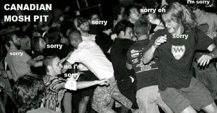 Sorry, eh - meme
