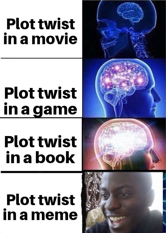 Mother of plot twists - meme