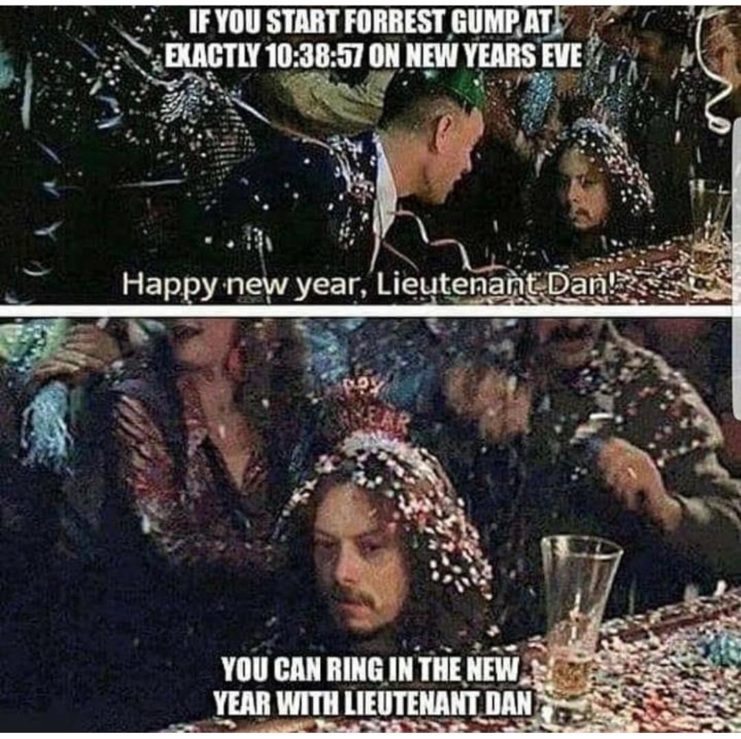 Happy new year - meme