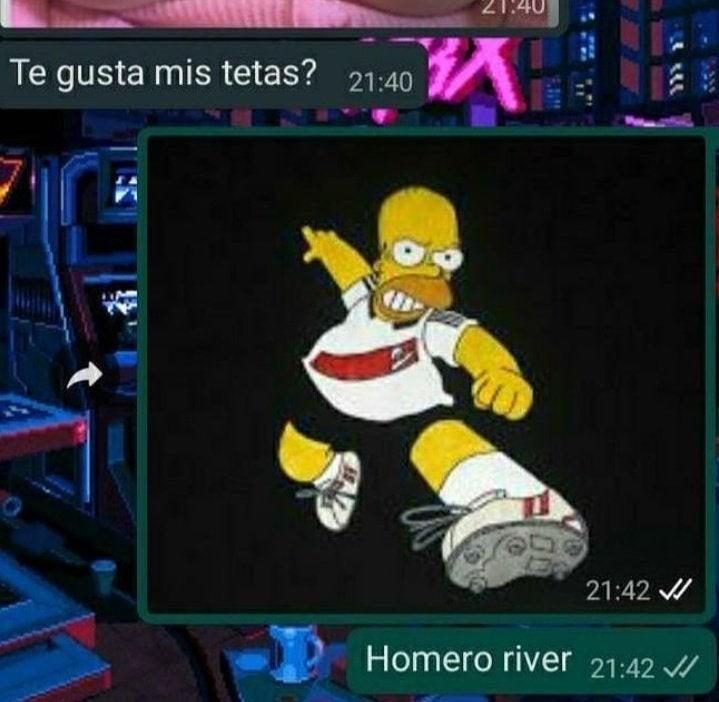 Homero river - meme