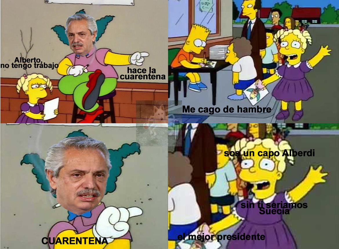 Maldición Cristina, el Peronismo no funciona - meme