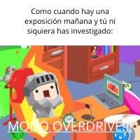 Modo Overdrive #1 - meme