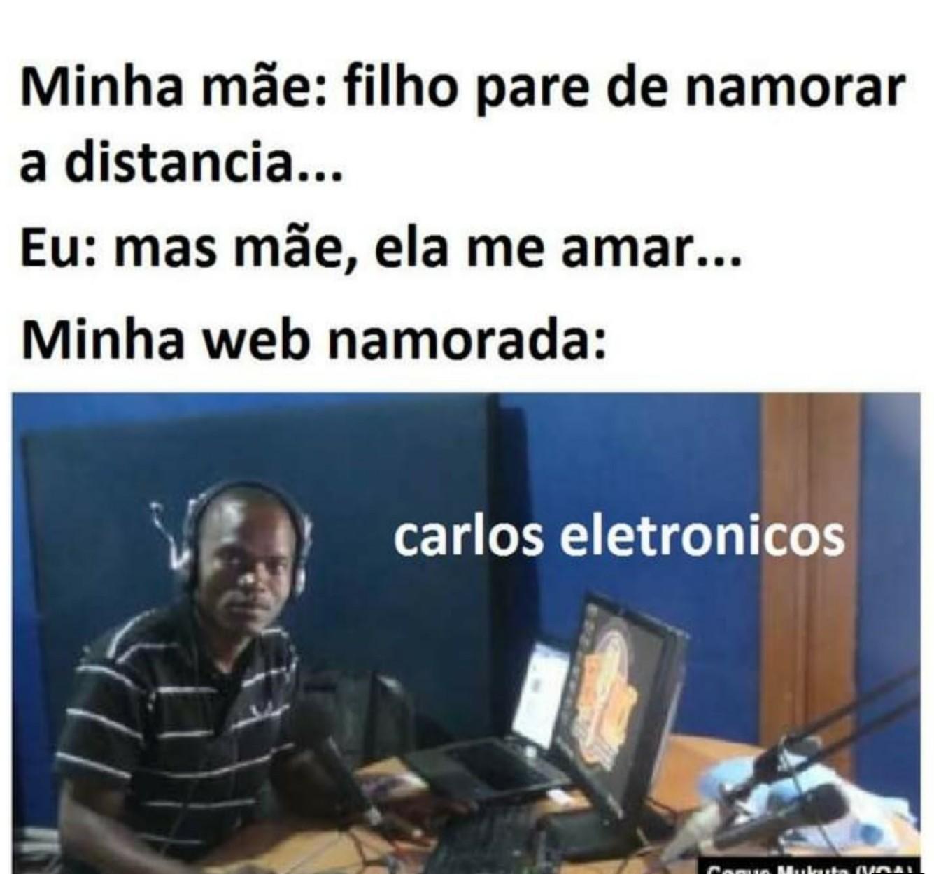 Carlos eletrônicos - meme