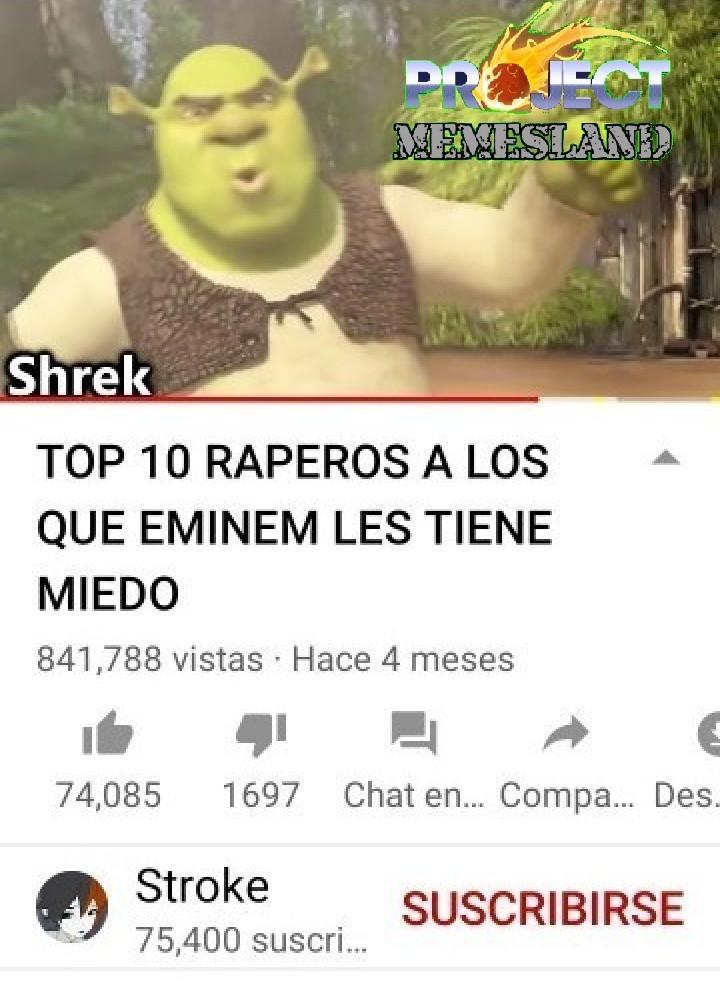 alto capo el shrek - meme