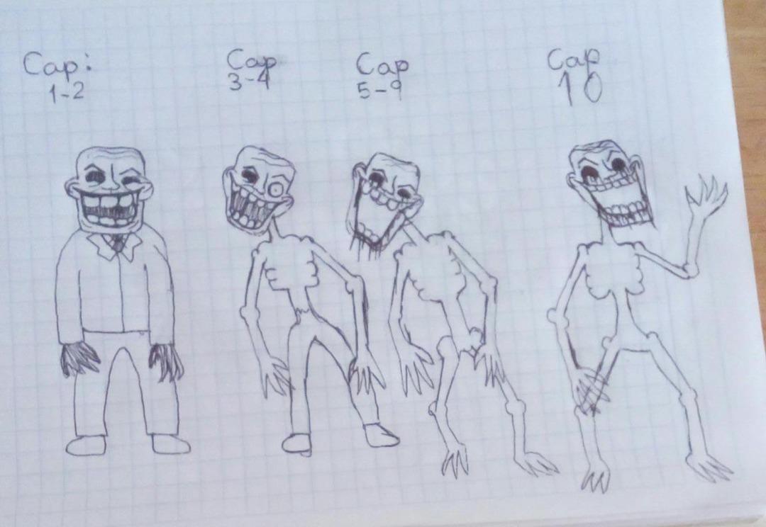 bocetos de trollge para una proxima serie de trollge dejen sus opiniones e ideas - meme