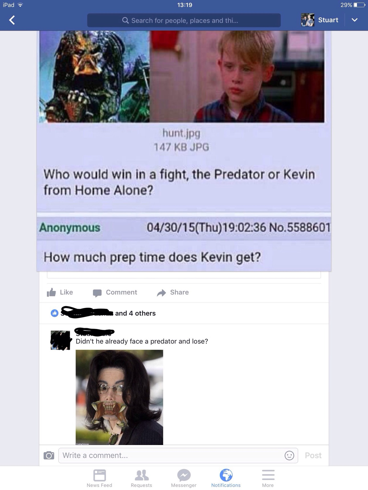 poor kev - meme