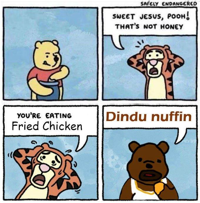 I sweah officah, he dindu nuffin - meme