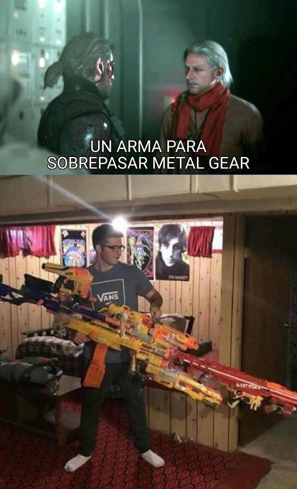 ES NERF O NADA, PERRA - meme