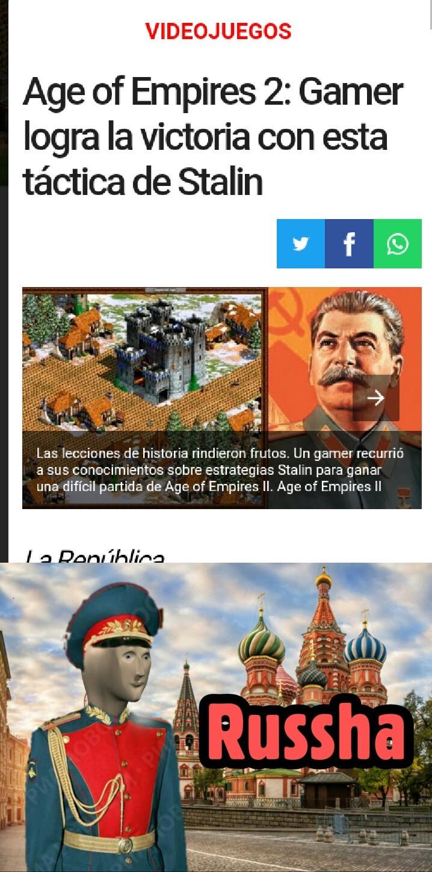 Sirvo a la Unión Soviética - meme