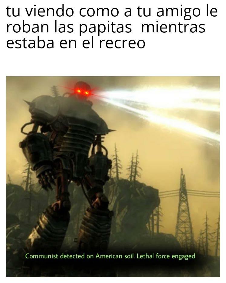 Comunista detected - meme