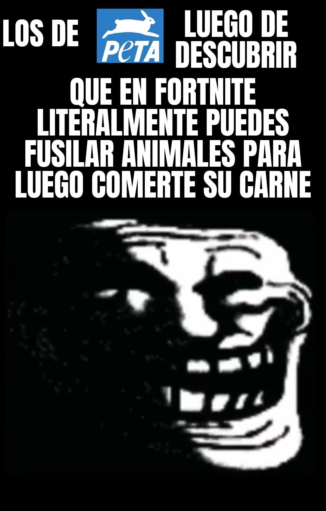 Organización vegana radical - meme
