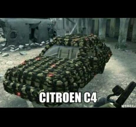 Citroen C-BOOOOOOOOOM - meme