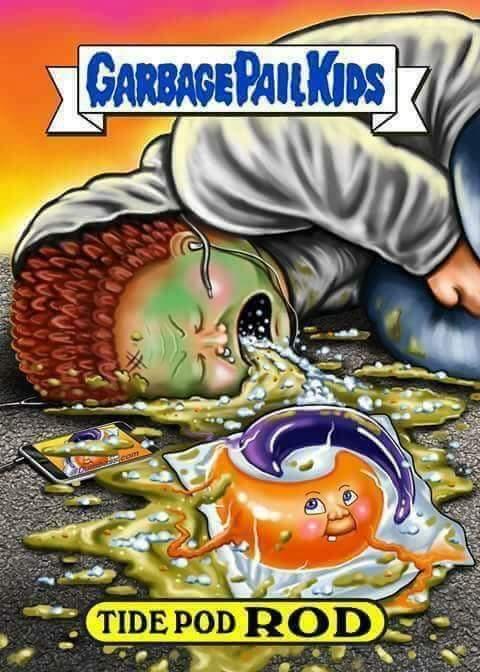 Insert 2011 slowpoke meme for title... Tide pods is finally dying