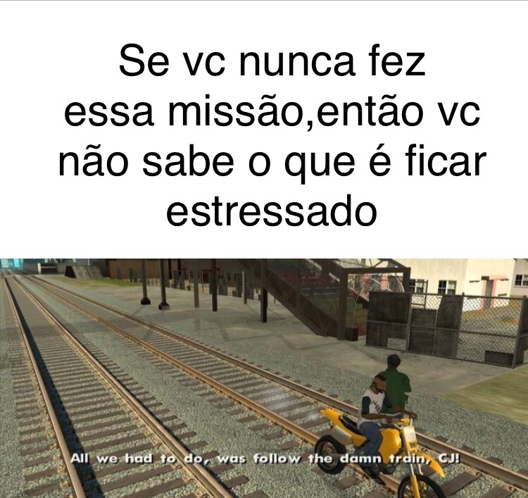 follow the train - meme