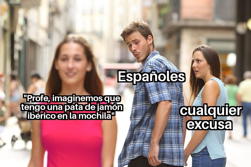 Jamón ibérico - meme
