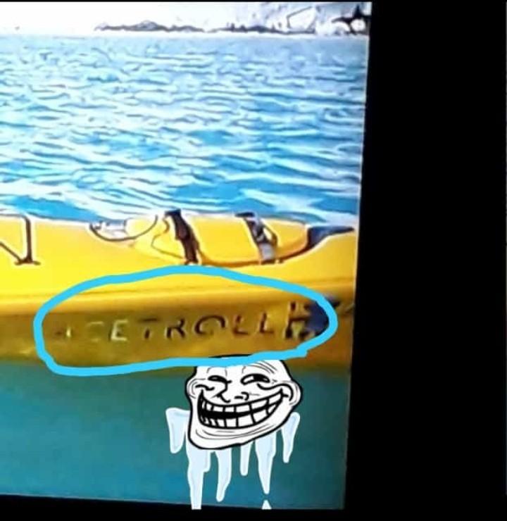Ice troll??! - meme
