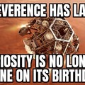 Happy Birthday Perceverence