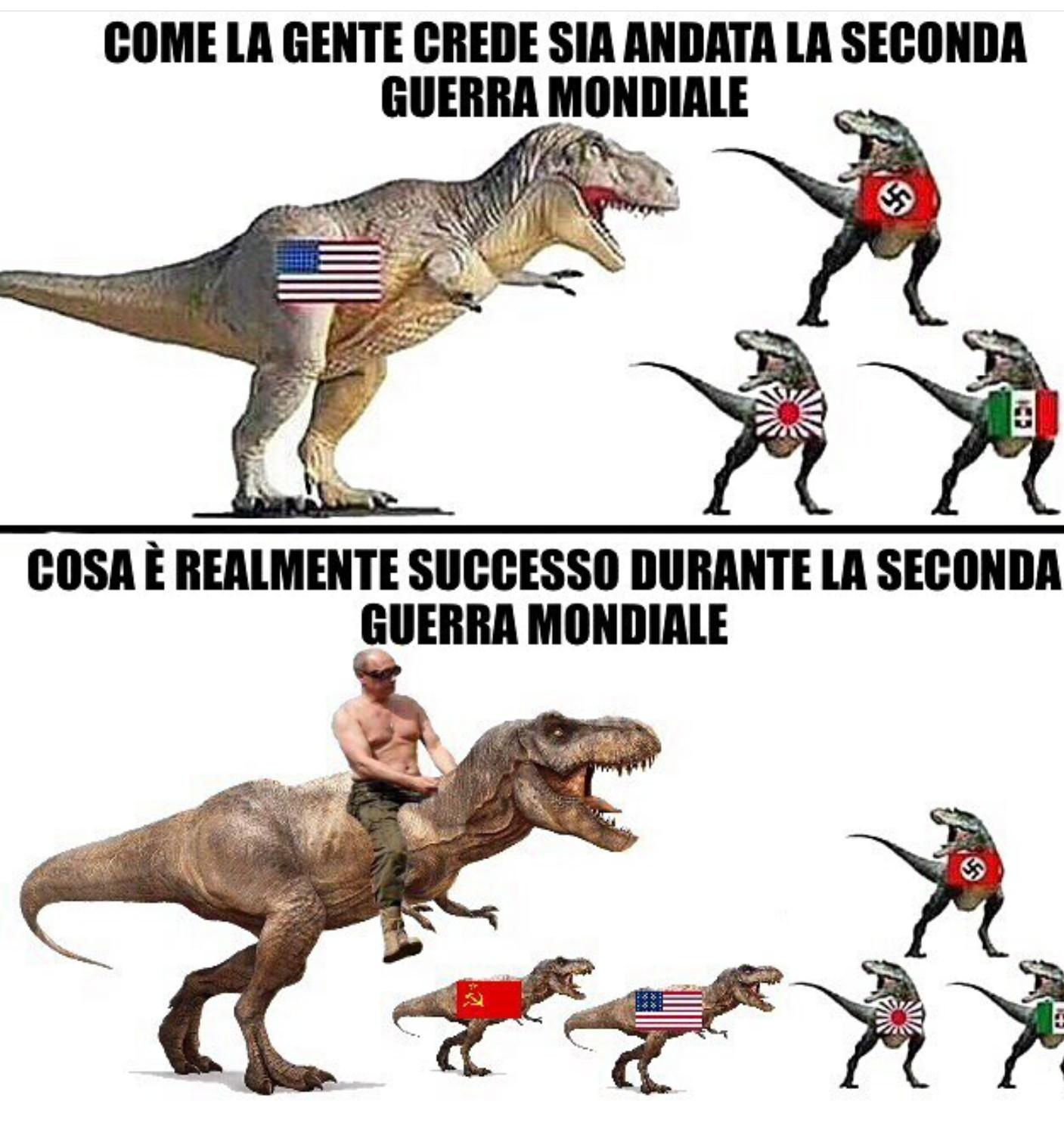 La vera storia - meme