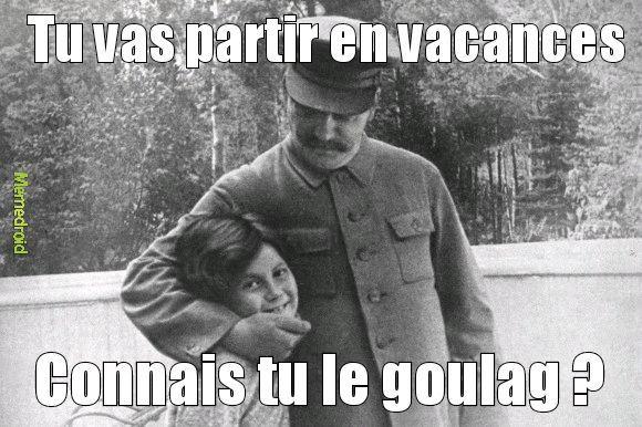 Quel gentil ce Staline - meme