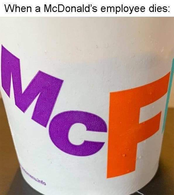 Press McF to pay respect - meme
