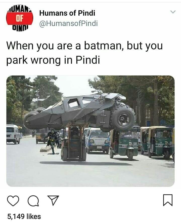 Pindi the windy city - meme