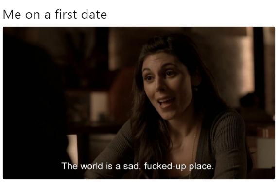 First date - meme