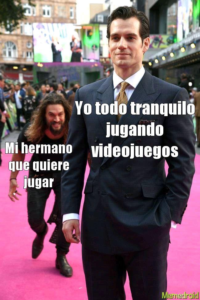 Los videojuegos violentos - meme