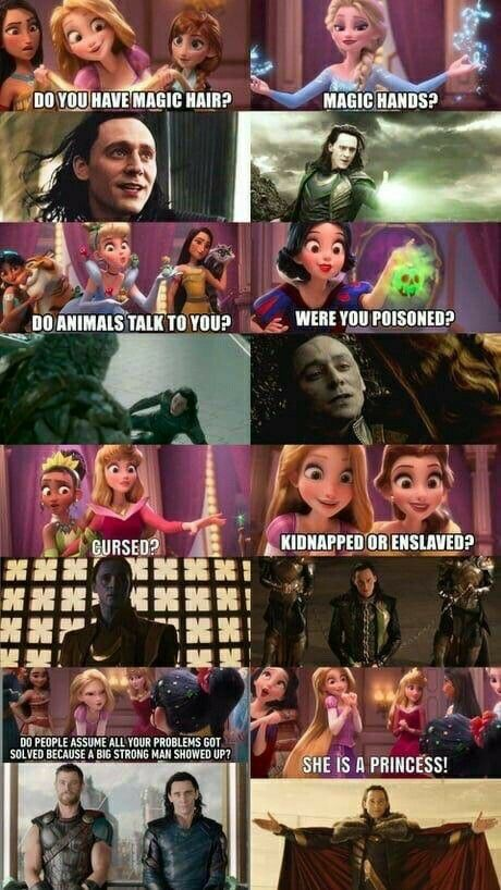 Marvel and disney - meme