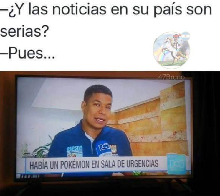 Cómo son las noticias en tu país? - meme