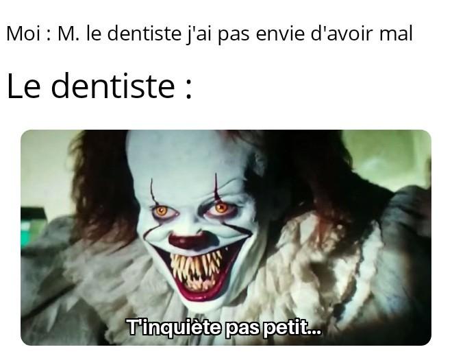 Oh non pas cette dent là! - meme