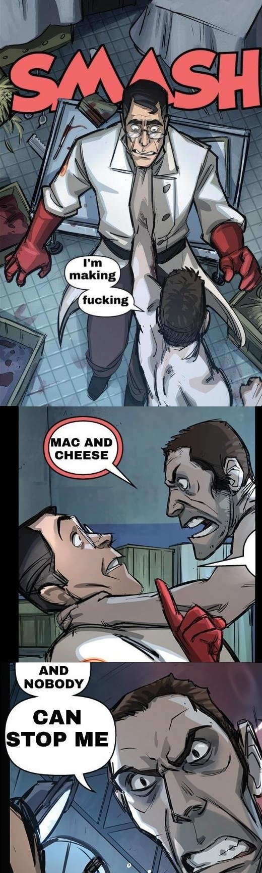 Mac n cheese - meme