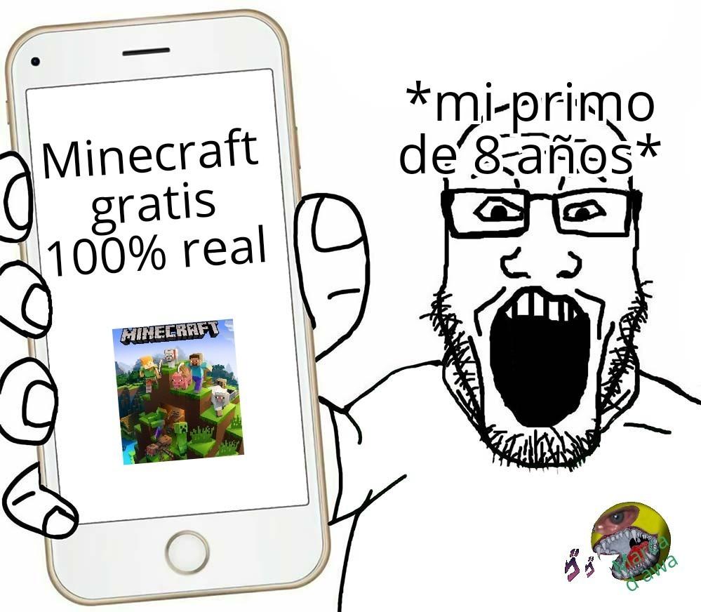 Terminó con 8 virus - meme