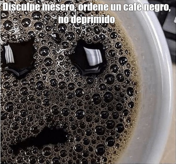 Cafe triste - meme