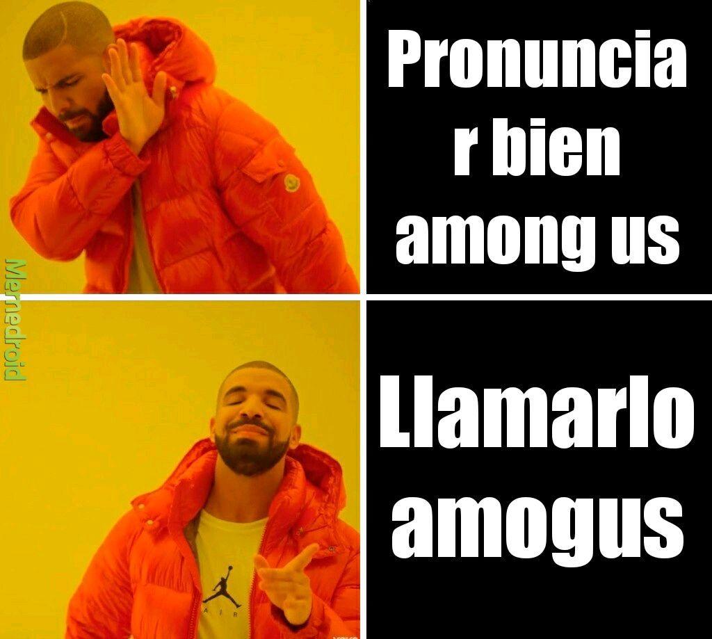 Amogua - meme