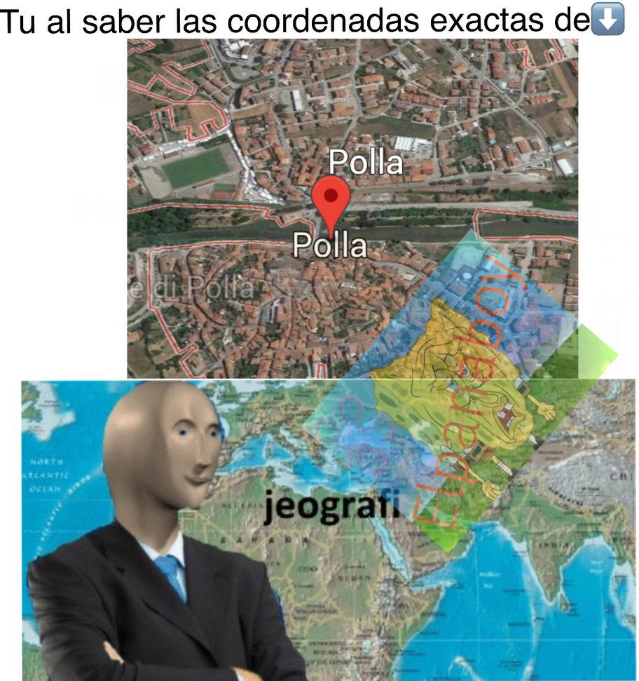 Si queréis buscarlo en Google Earth está en Italia - meme