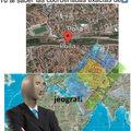 Si queréis buscarlo en Google Earth está en Italia