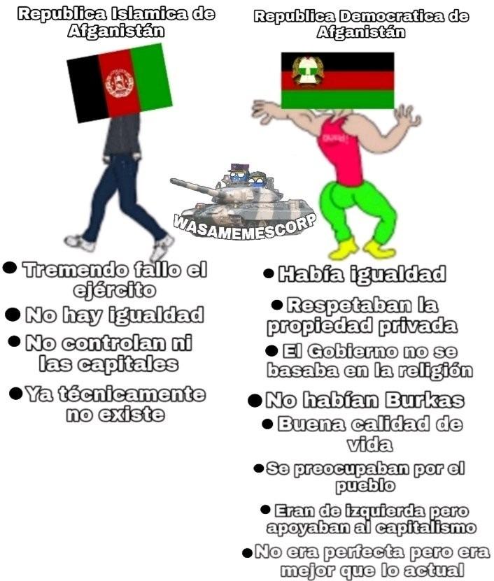 Afganistán - meme