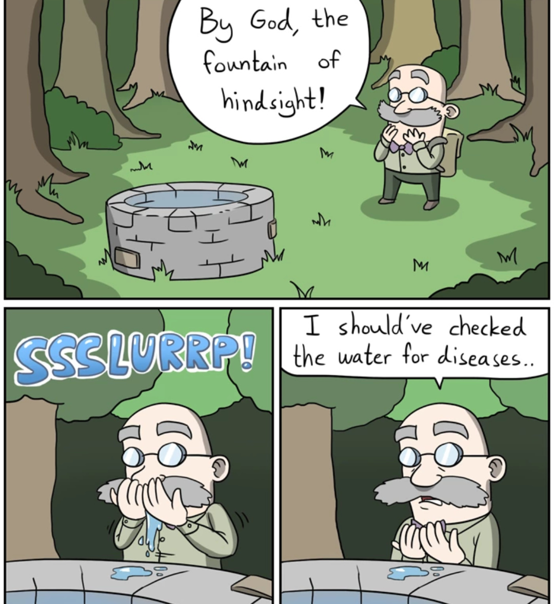 575614dcb3265 fountain of hindsight meme by 101wizard ) memedroid