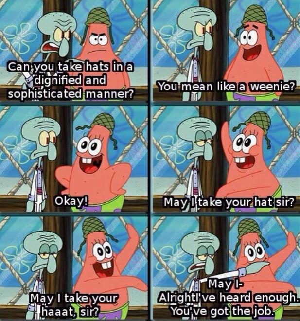 Spongebob has some good jokes - meme