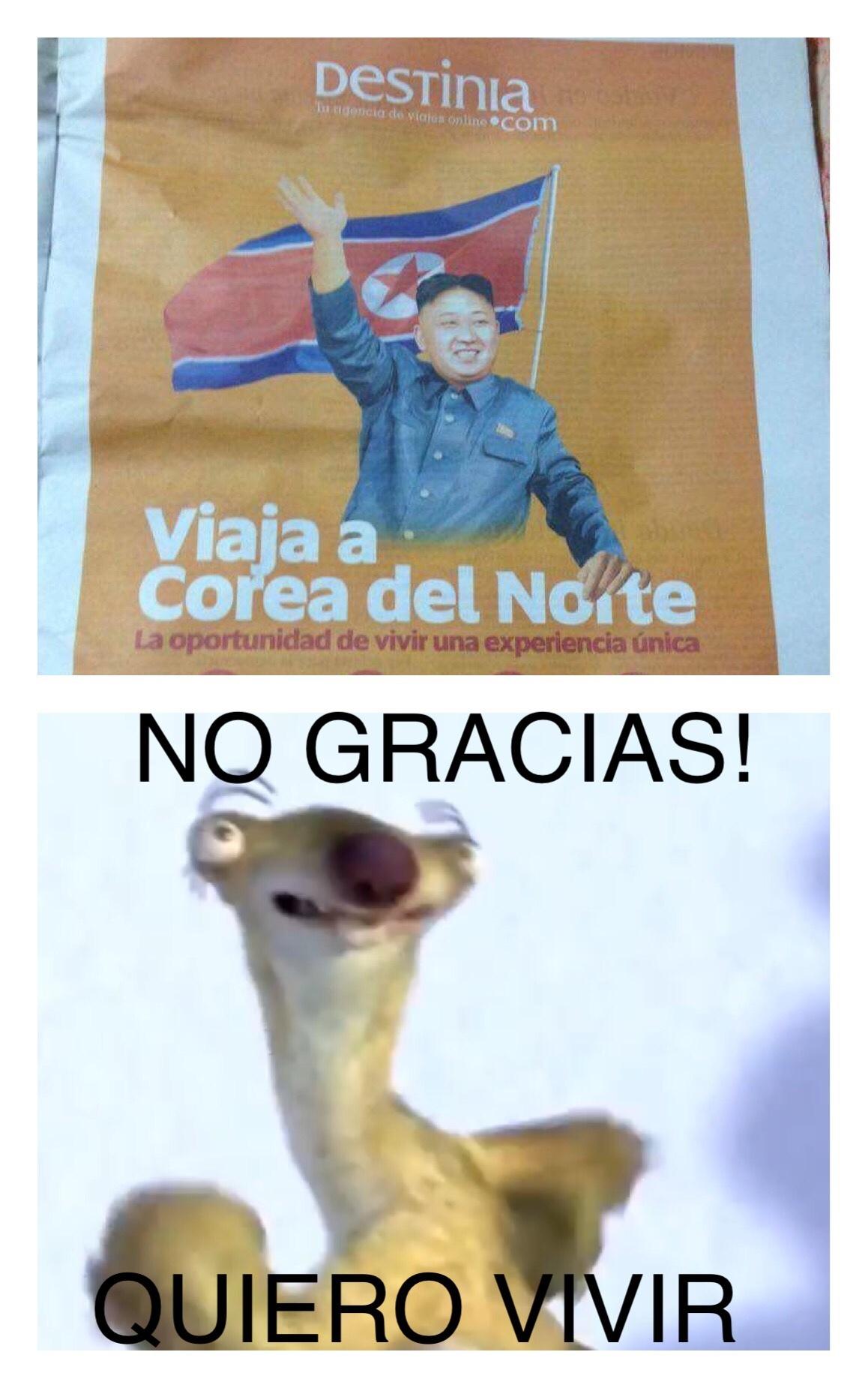 no gracias! - meme