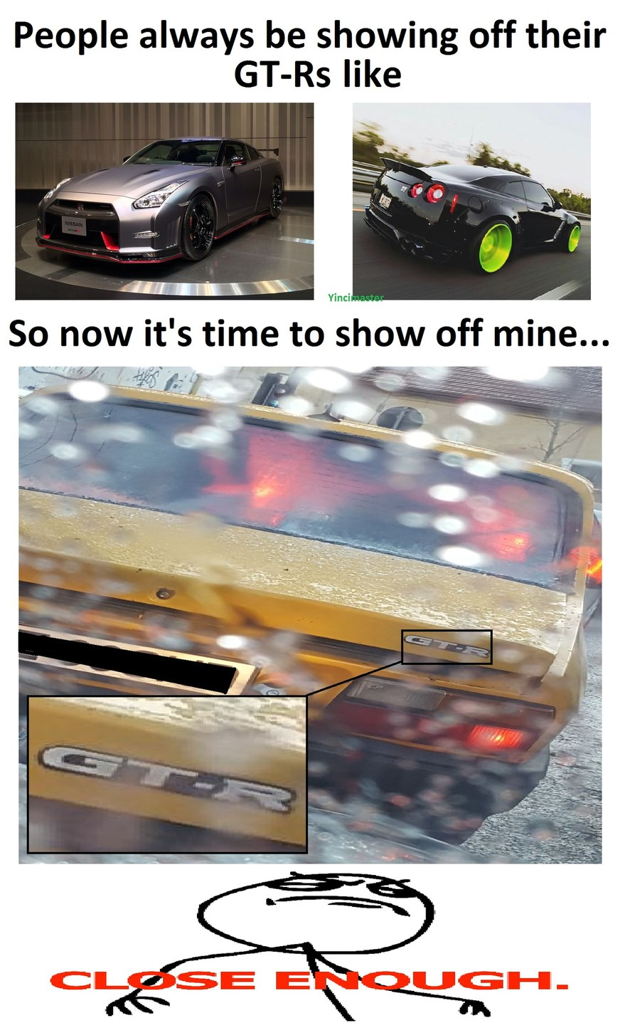 GT-R Power - meme