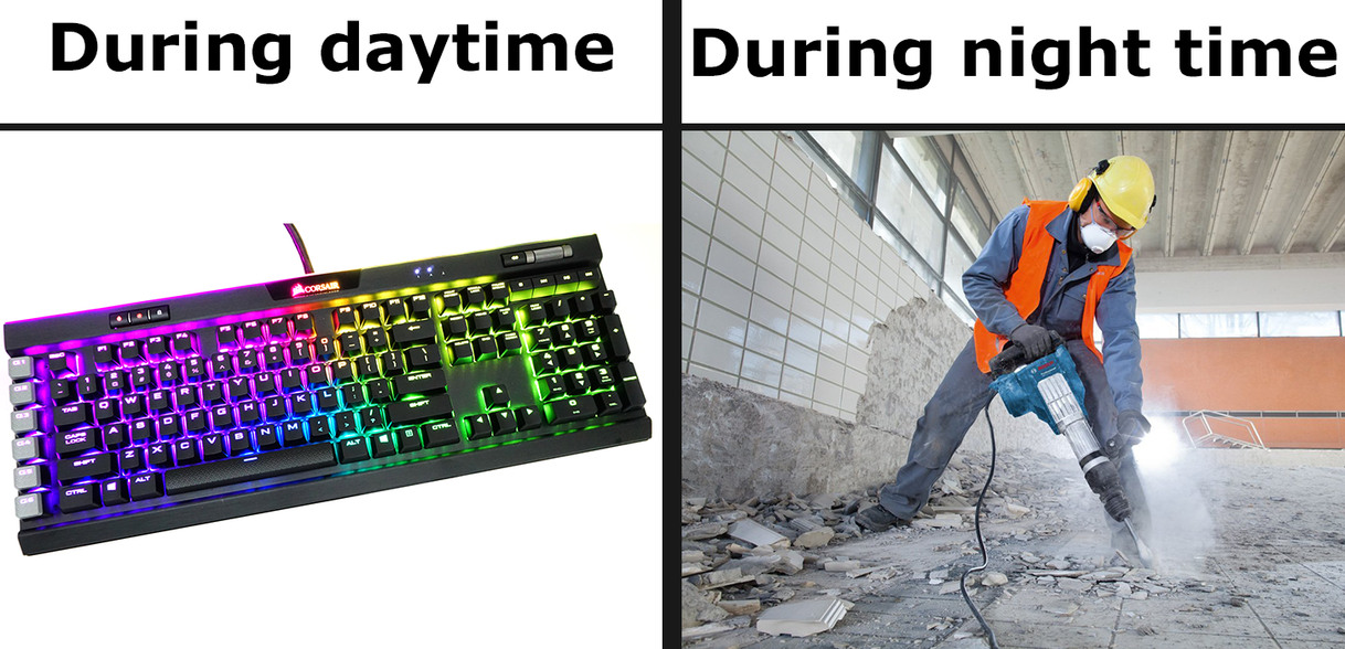 Mechanical Keyboards (OC) - meme