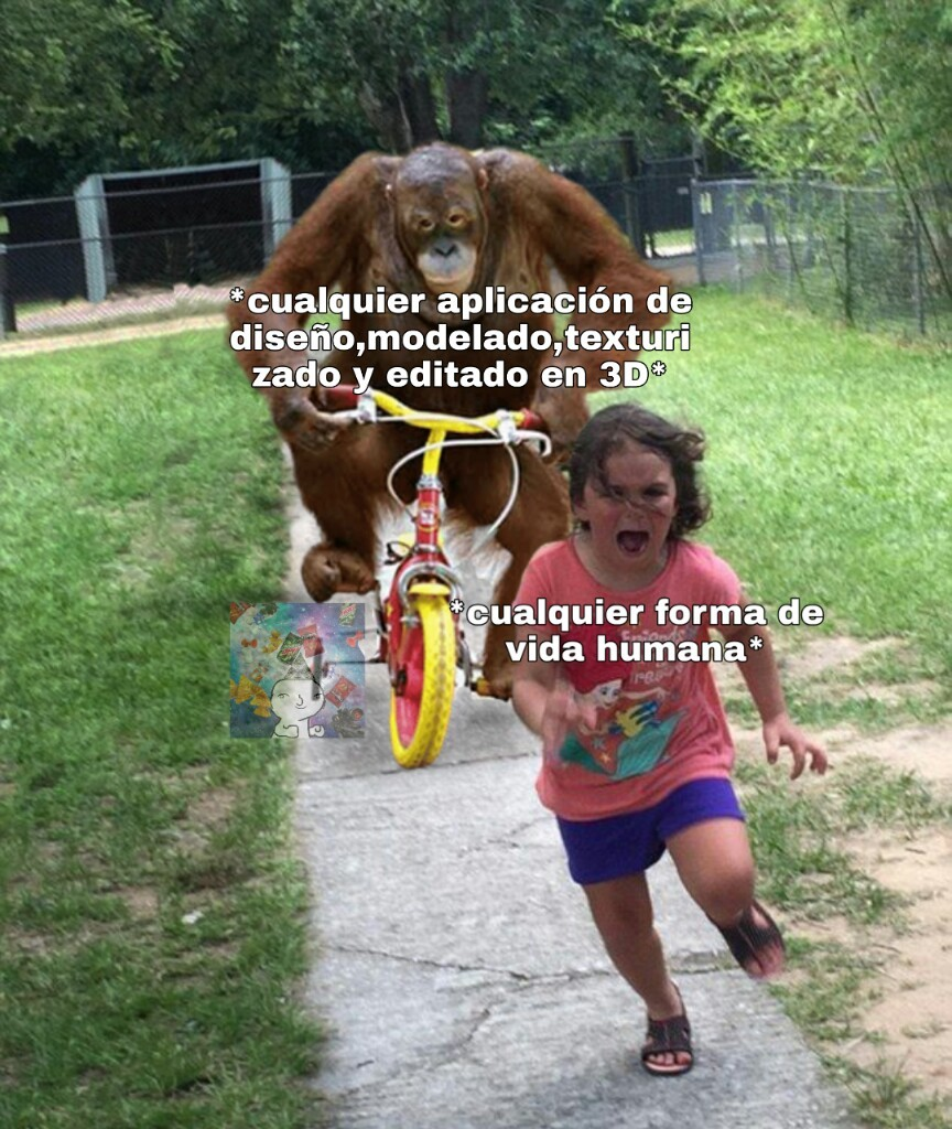 Púdrete blender - meme