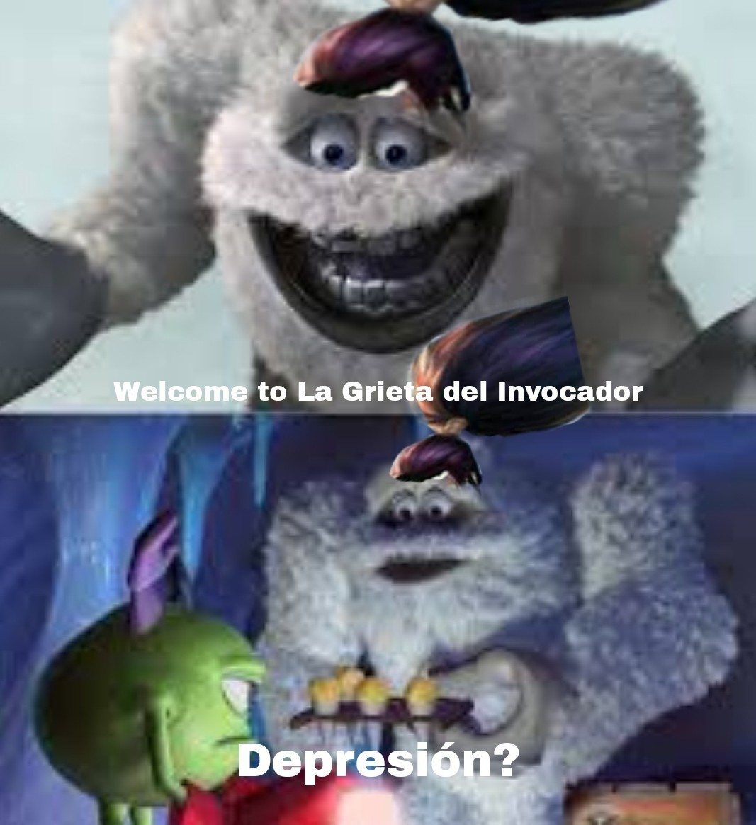 No jueguen al LoL - meme