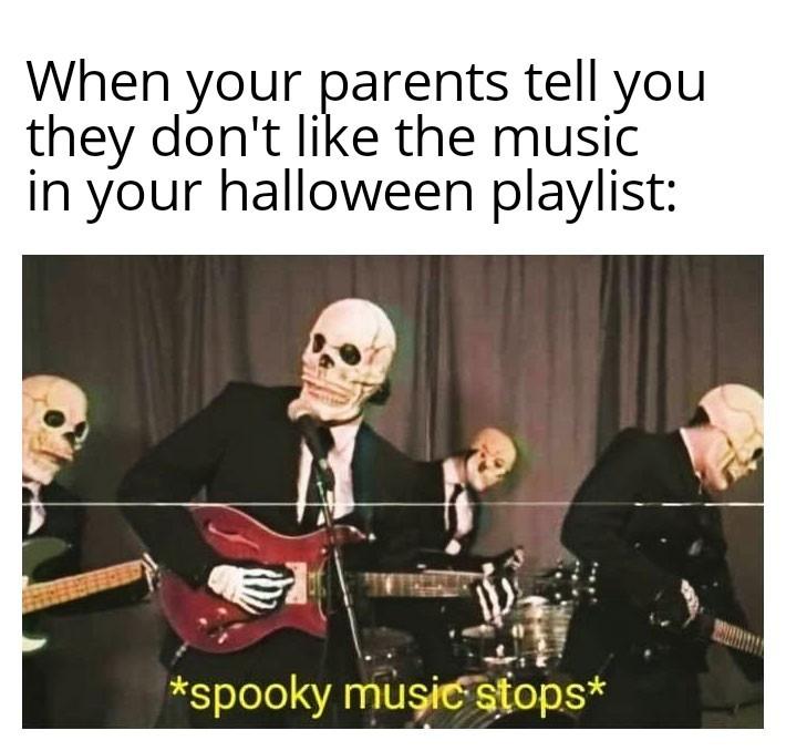 Spooky Music - meme