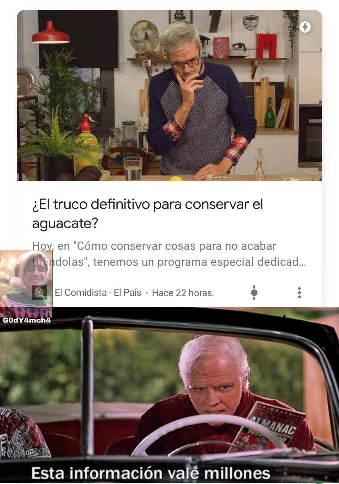 Aguacate :-) - meme