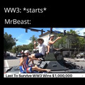 MR.Beast really wanna get drafted doe