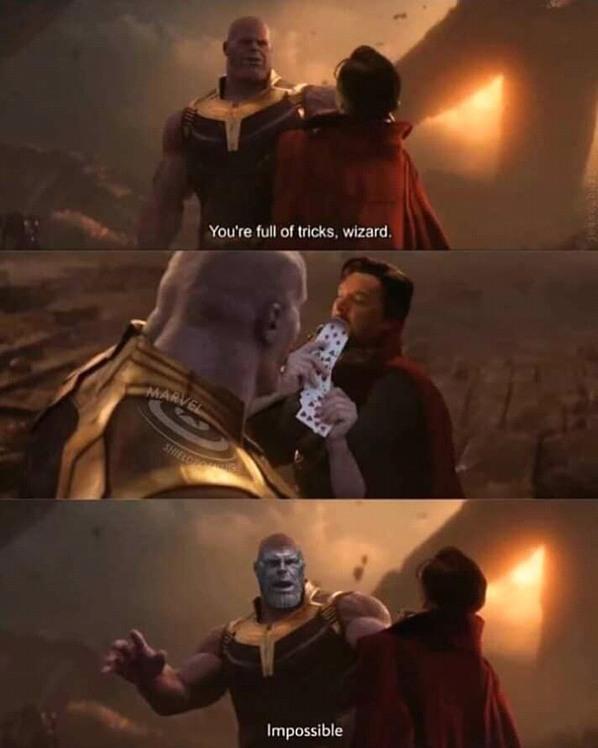 Infinity guar - meme