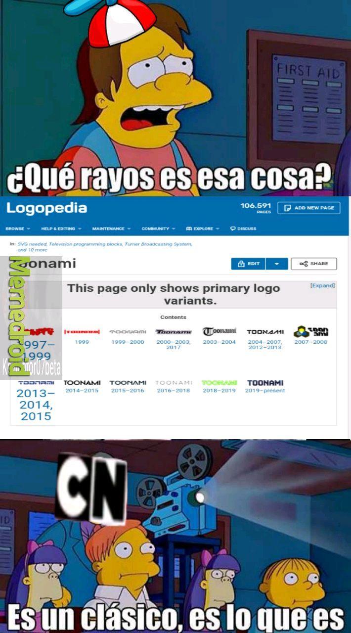 Toonami logos - meme