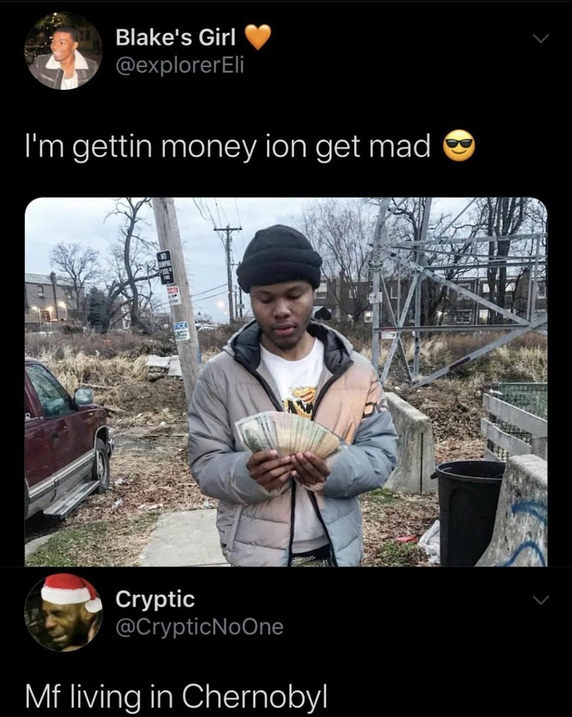 He do be livin do  - meme